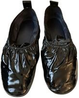 Celine Soft Ballerina Black Patent leather Ballet flats