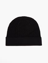 A.P.C. Navy Jeff Merino Beanie Hat