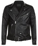 AllSaints Boyson Leather Biker Jacket