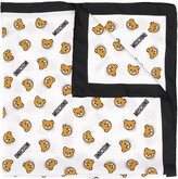 Moschino Teddy Bear print scarf