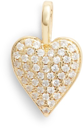 Melinda Maria Icons Double Sided Heart Charm