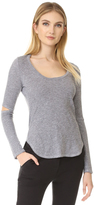 Lanston Cutout Long Sleeve Tee