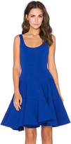 Milly Dalhia Fit & Flare Dress