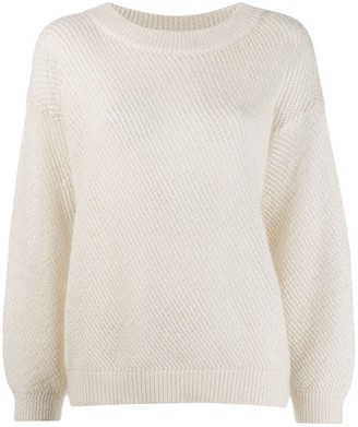 Brunello Cucinelli Loose Fit Jumper