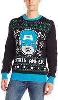 Marvel Men's Captain America Sweater
