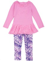 Juicy Couture Outlet - GIRLS 2PC TUNIC & LEGGING SET