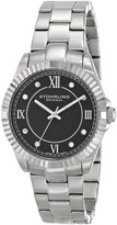 Stuhrling Original Women's 399L.22111 Symphony Lady Nautic Analog Display Swiss Quartz Silver Watch