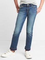 Gap Stretch jersey-lined straight jeans