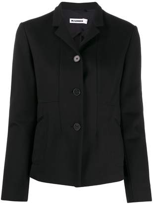Jil Sander single-breasted short jacket