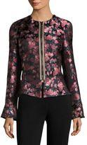 Etro Floral Jacquard Peplum Jacket