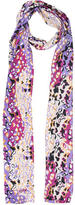 Diane von Furstenberg Abstract Printed Scarf
