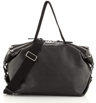 Saint Laurent ID Convertible Bag Leather Large