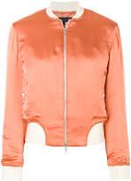 Rag & Bone contrasting detail bomber jacket