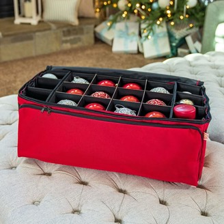west elm 3-Tray Ornament Storage Bag