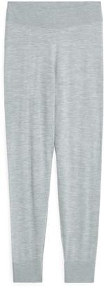 Arket Fine-Knit Wool Trousers