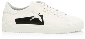 Axel Arigato Clean 90 Taped Bird Leather Low-Top Sneakers