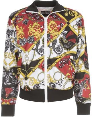 Versace Zipped Sweatshirt Print All Over