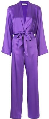 Mason by Michelle Mason x REVOLVE kimono tie jumpsuit