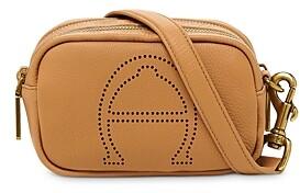 Etienne Aigner Stella Mini Leather Camera Crossbody