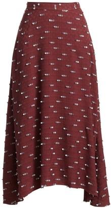 Rachel Comey Gimlet Embroidered Midi Skirt