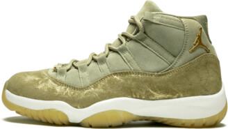 Jordan Womens Air 11 Retro 'Neutral Olive' Shoes - 6W