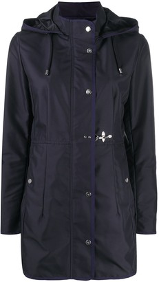 Fay Drawstring Parka Coat