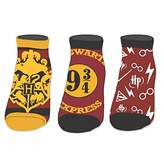 Bioworld Harry Potter Ankle Socks 3 Pack