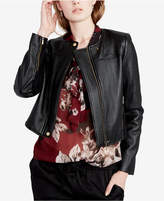 Rachel Roy Quilted Cropped Moto Jacket, Created for Macy's
