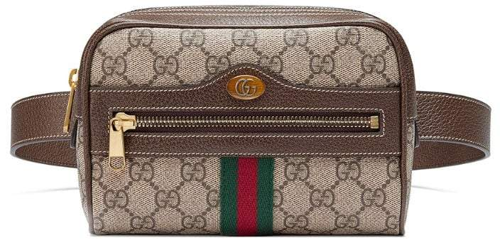 3c2ccf849 Gucci Canvas Belt Bag - ShopStyle UK