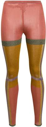 Missoni panelled knitted-style tights