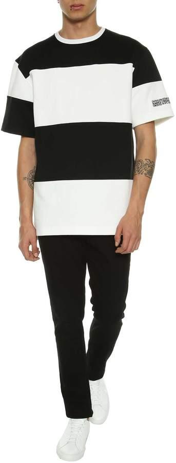 Calvin Klein Sweatshirt With Short Sleeves
