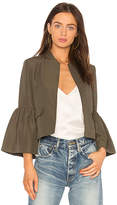 Ulla Johnson Mavis Jacket in Olive. - size 0 (also in 6,8)