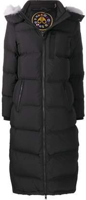 Moose Knuckles long-sleeve padded coat