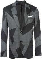Neil Barrett two button blazer - men - Polyester/Spandex/Elastane/Viscose/Virgin Wool - 50