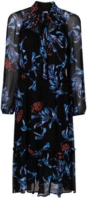 Baum und Pferdgarten Floral Print Bow Tie Dress