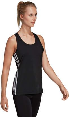 adidas Women's Essentials Designed 2 Move 3-Stripes Training Tank