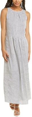 Max Mara 2 Uscita Linen & Silk-Blend Maxi Dress