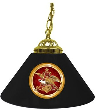 Pool' Anheuser Busch 1 - Light Pool Table Cone Pendant Trademark Global