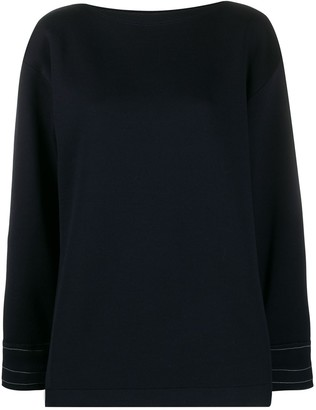 Marni exposed stitch sweatshirt