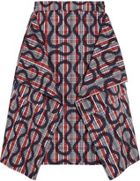 Vivienne Westwood Heathcote squiggle-print cotton-blend skirt