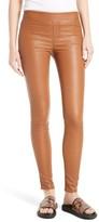 Helmut Lang Women's Stretch Lambskin Leather Leggings
