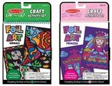 Melissa & Doug On the Go Foil Art Craft Activity Sets: Princess and Animals