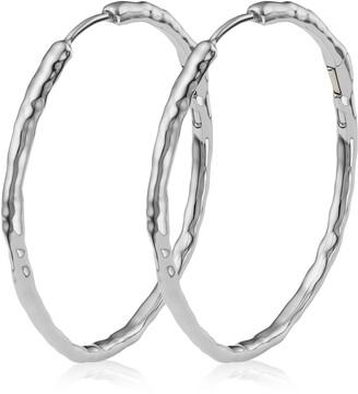 Monica Vinader Siren Muse Large Hoop Earrings