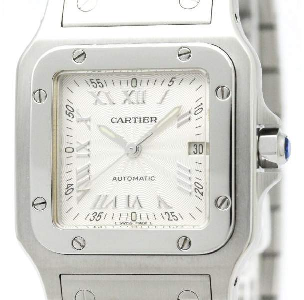 Cartier Santos Galbee W20040D6 Stainless Steel Automatic 29mm Mens Dress Watch