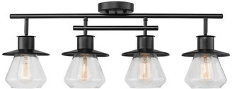 Globe Electric Nate 4-Light Dark Bronze Track Kit