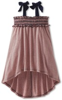 Luna Luna Copenhagen Portia Dress (Toddler/Little Kids/Big Kids) (Coral) - Apparel