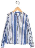 Bonpoint Boys' Striped Long Sleeve Shirt
