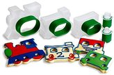 Cuisipro Train Set Snap-Fit 5-Piece Cookie Cutter Set.