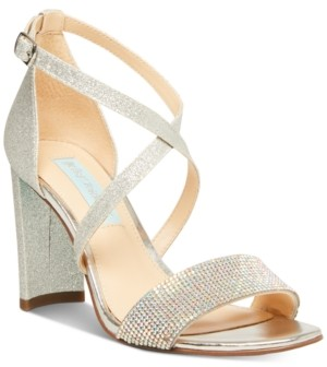 Betsey Johnson Bella Evening Sandals, Created for Macy's Women's Shoes