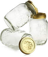 Bormioli Quattro Stagioni 33.5oz Canning Jars, Set of 3